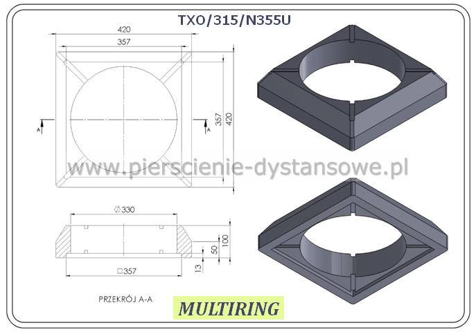 adapter TXO/315/N355U